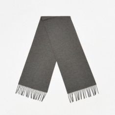 Norse Projects Lambswool Scarf - Charcoal Melange