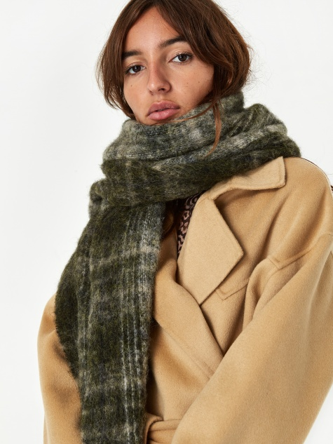 Fresia Check Scarf - Laurite