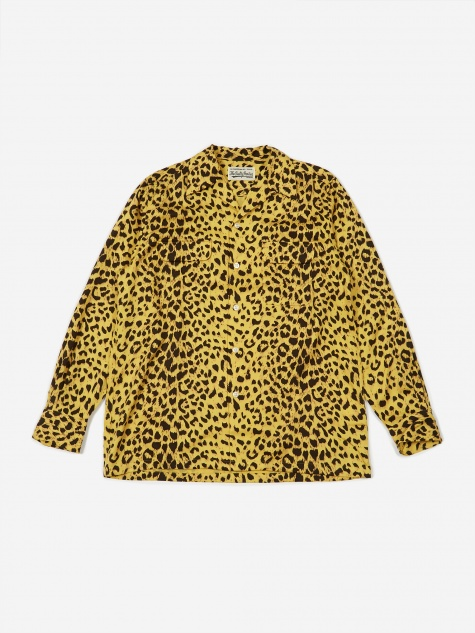 Hawaiian Longsleeve Shirt (Type 3) - Leopard