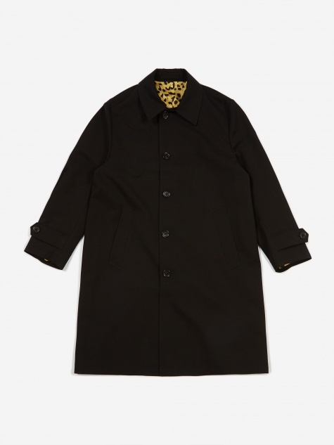 Bal Collar Coat (Type 2) - Black