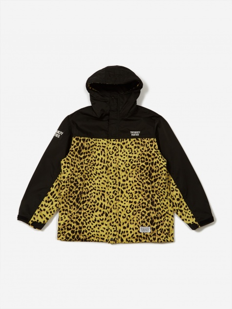 Leopard Mountain Parka - Yellow