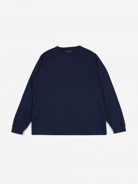 40/2 Pocket T-Shirt - Navy