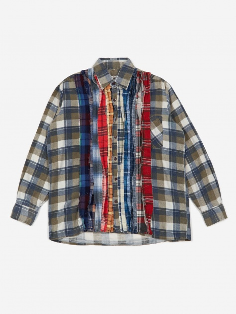 Rebuild Flannel Ribbon Shirt Size Medium 3 - Assorted