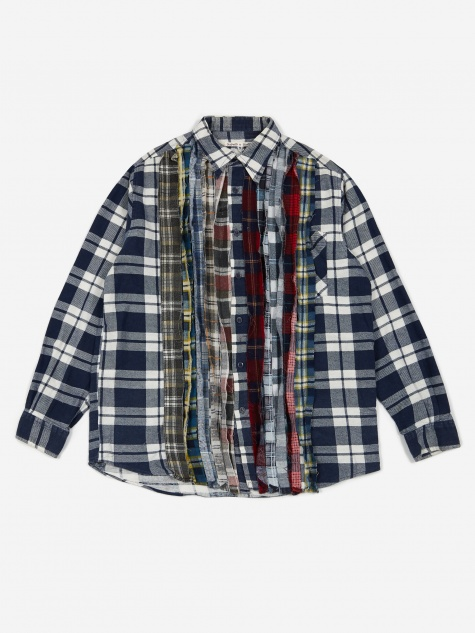 Rebuild Flannel Ribbon Shirt Size Medium 4 - Assorted