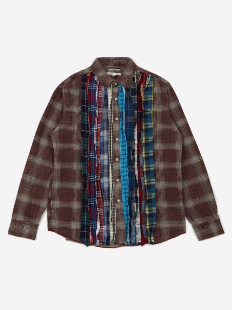 Rebuild Flannel Ribbon Shirt Size Medium 5 - Assorted