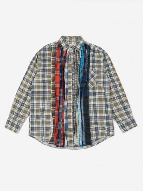 Rebuild Flannel Ribbon Shirt Size Large 1 - Assorted