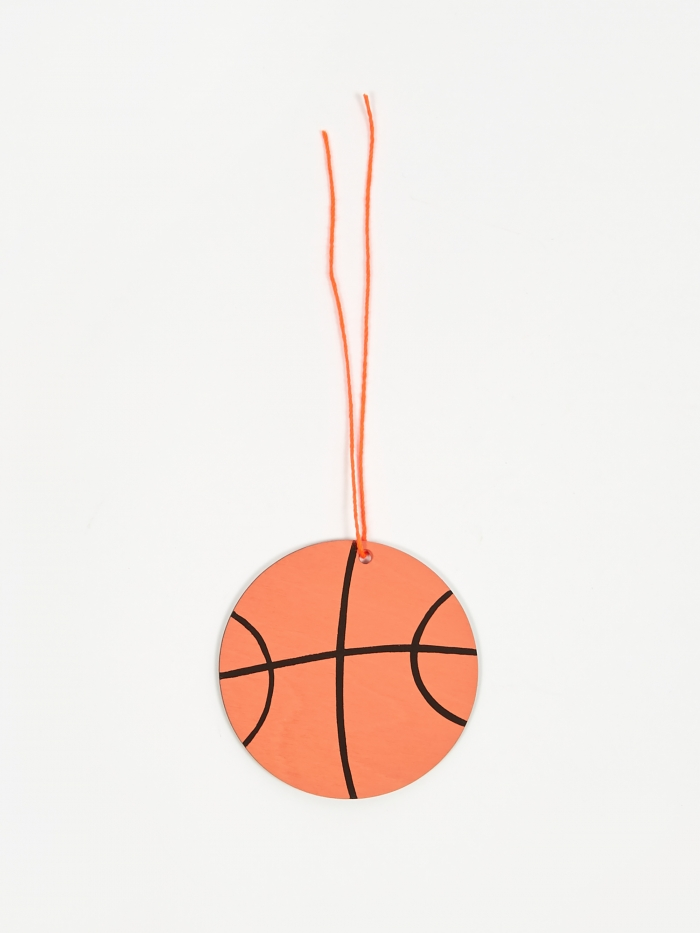 The Great Lakes Goods Basketball Ornament (Image 1)