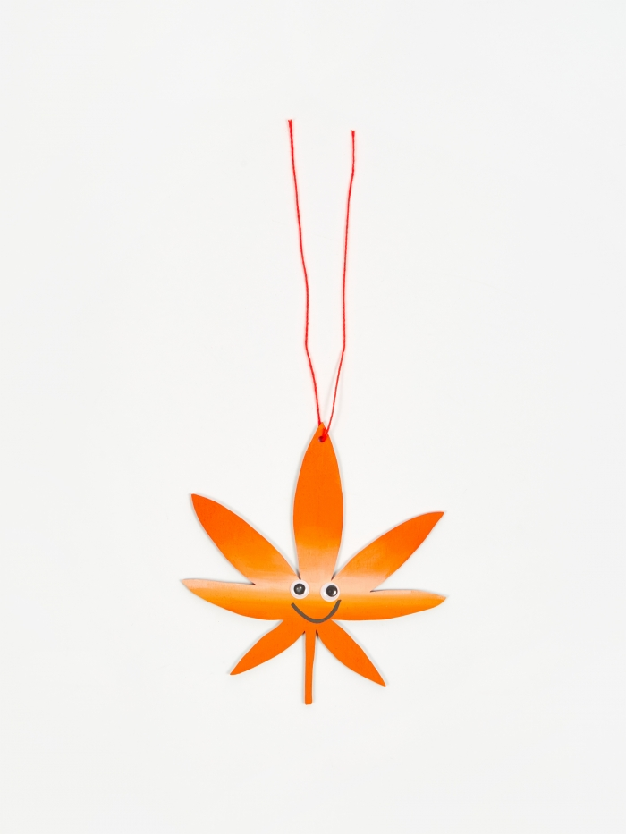 The Great Lakes Goods Best Buds wall Charm - Orange Ombre (Image 1)