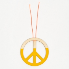 The Great Lakes Goods Peace Ornament 4 - Sun