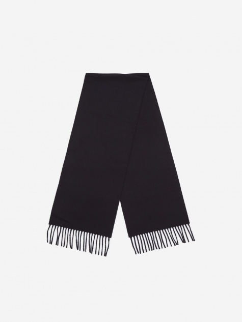 Lambswool Scarf - Dark Navy