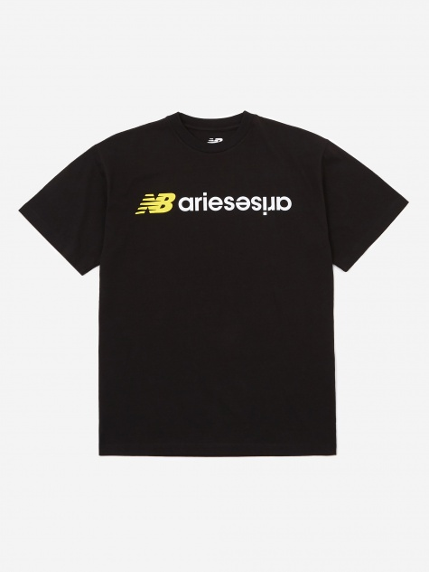 x New Balance AriesArise Shortsleeve T-Shirt - Black
