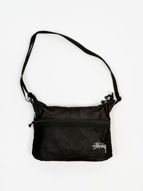 Lightweight Shoulder Bag - Black