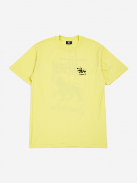 ITP Lion Shortsleeve T-Shirt - Lemon