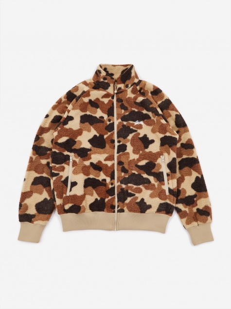 Camo Fleece Jacket - Camo