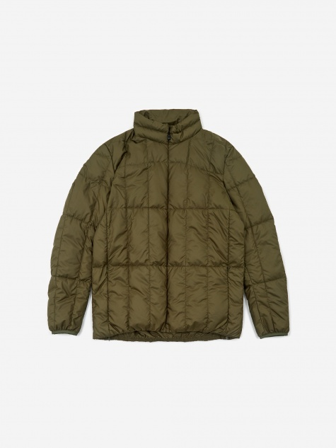 Recycled Middle Down Jacket - Olive