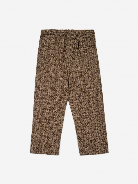 Printed Wo/NY Pant - Beige