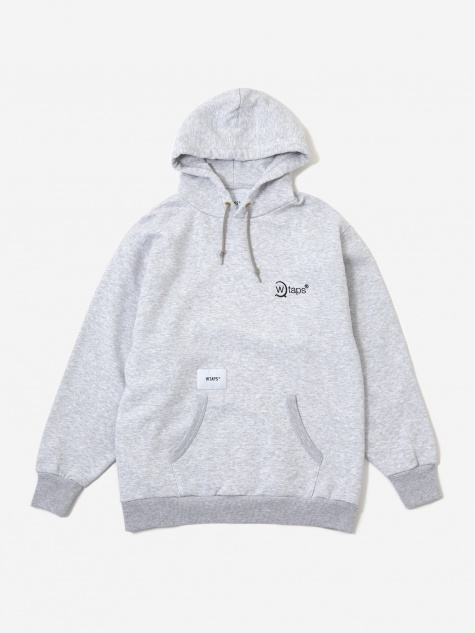 Axe 02 Hooded Sweatshirt - Ash Grey