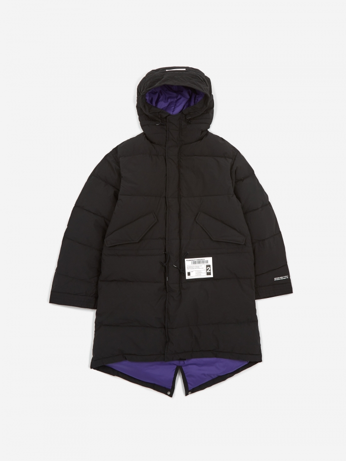 Neighborhood M-51 . Down / CN-COAT - Black (Image 1)