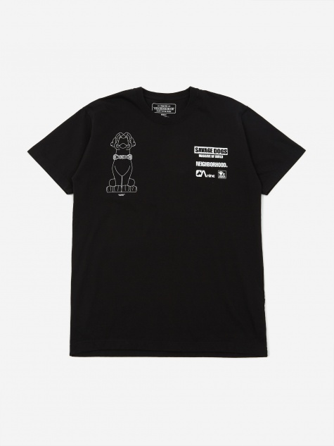 Shortsleeve Ana / C-TEE - Black X White