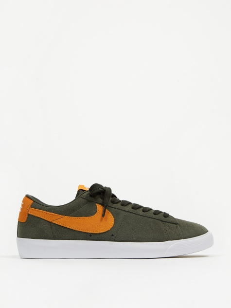 SB Blazer Low GT - Sequoia/Kumquat/White/Brown