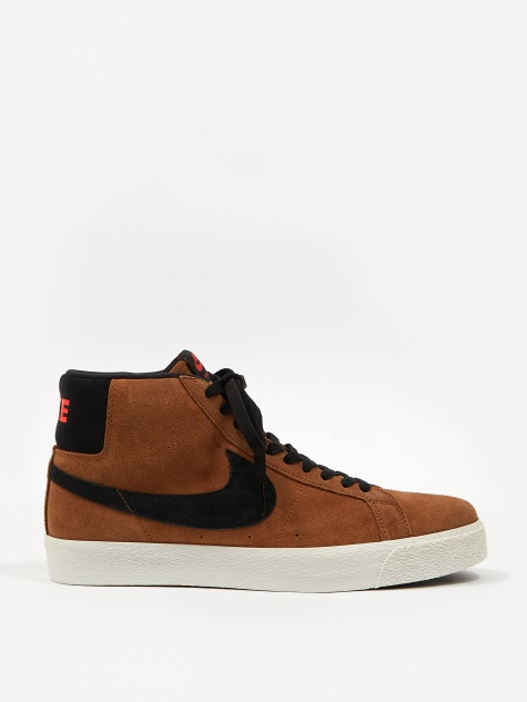 SB Zoom Blazer Mid - Light Tan/Black