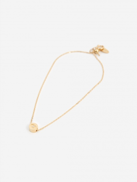 Modern Words Iris Bracelet - 18ct Yellow Gold