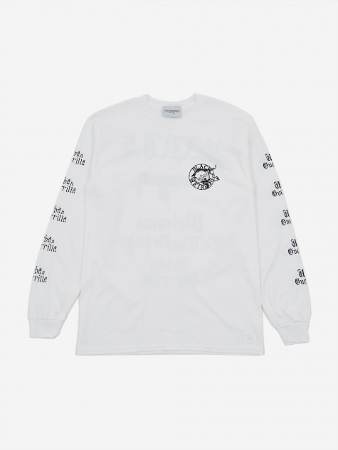 Paris Longsleeve T-Shirt - White