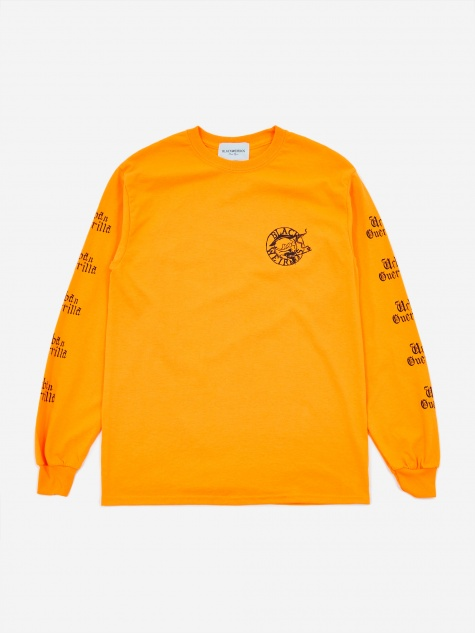 Paris Longsleeve T-Shirt - Orange