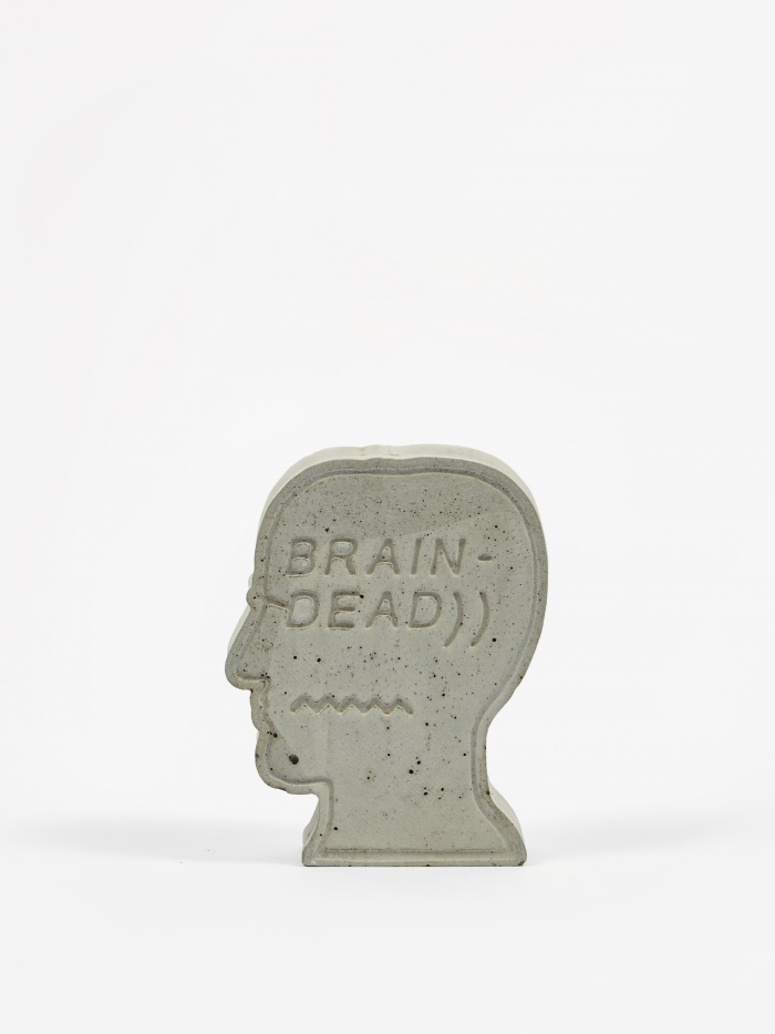Brain Dead Incense Burner - Concrete (Image 1)