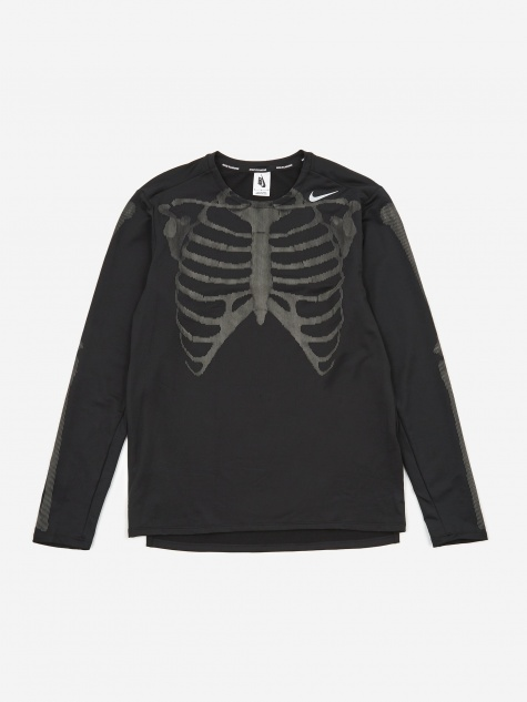 NRG Skeleton Longsleeve T-Shirt - Black