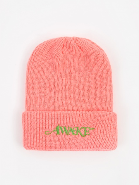 Loose Gauge Classic Logo Beanie - Hot Pink