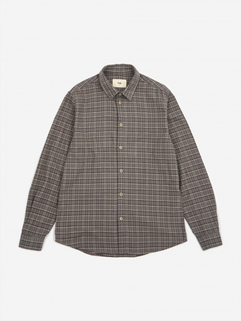 Storm Shirt - Charcoal Grid Check