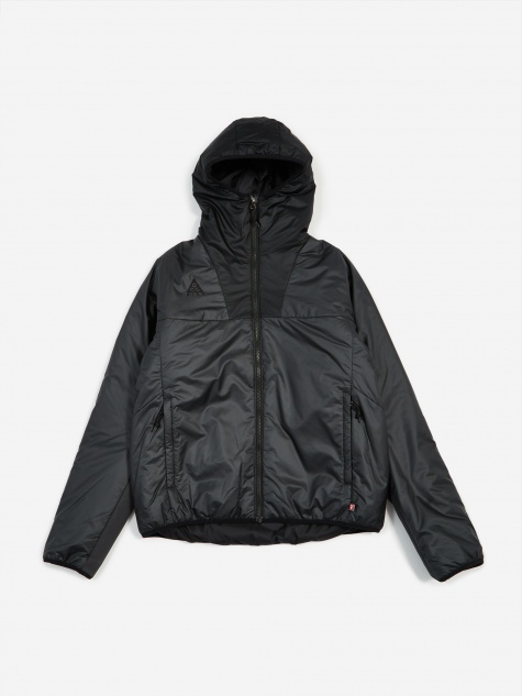 NRG ACG Primaloft Hooded Jacket - Anthracite/Black