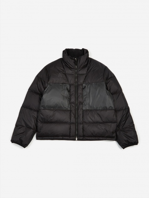NRG ACG Down Filled Jacket - Black/Anthracite
