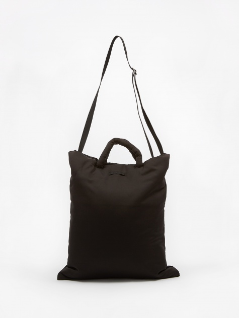 Pillow Tote - Black Tech