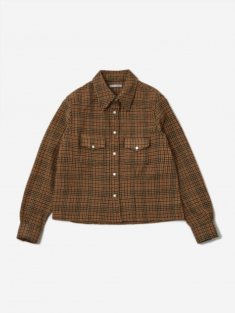 Shrunken Frontier  Shirt - Highgate Houndstooth