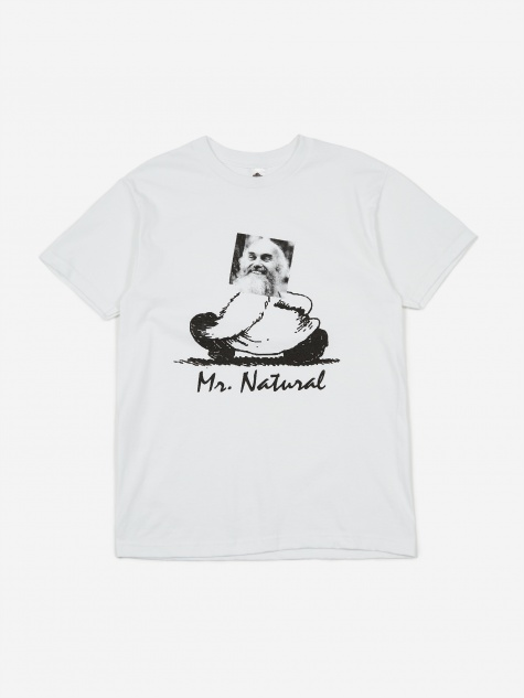 Mr. Natural Shortsleeve T-Shirt - White