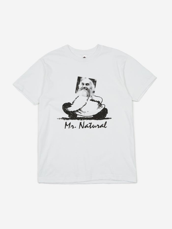 PRMTVO Mr. Natural Shortsleeve T-Shirt - White (Image 1)