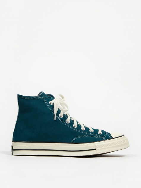 Chuck Taylor All Star 70 Hi Suede - Midnight Turquoise