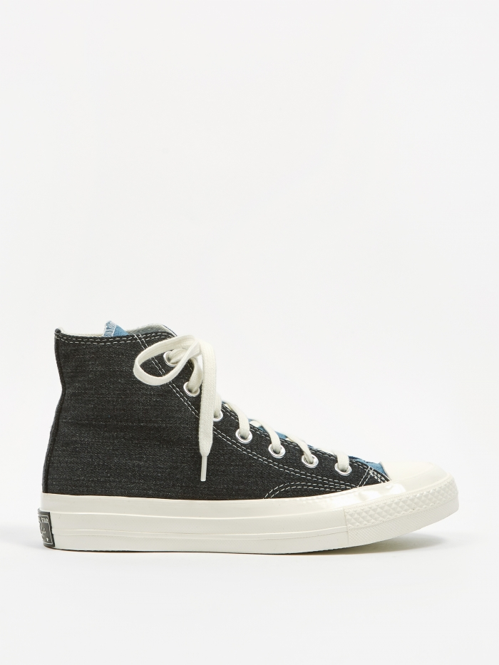 Converse Chuck Taylor Renew Denim Chuck 70 Hi - Dark Denim/Light (Image 1)