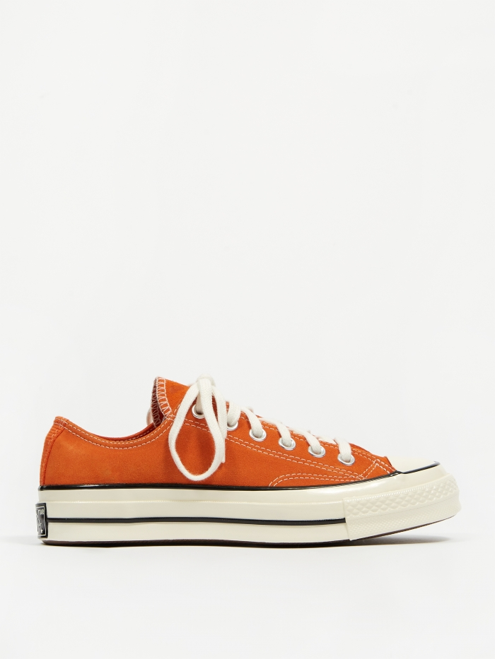 Converse Chuck Taylor All Star 70 Ox Suede - Campfire Orange (Image 1)