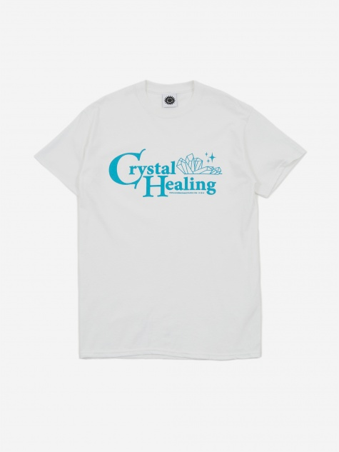 Crystal Healing Shortsleeve T-Shirt - White