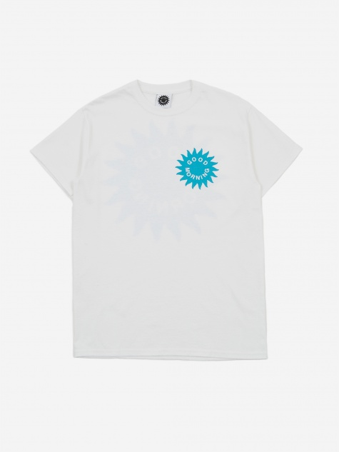 Sun Logo Shortsleeve T-Shirt - White