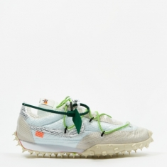 Nike Waffle Racer Off White - White/Black/Electric Green