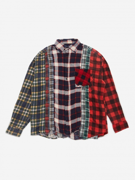 Rebuild 7 Cuts Flannel Shirt Size X-Large 2 - Assorted