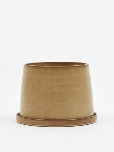 Plant Pot 125mm -Beige