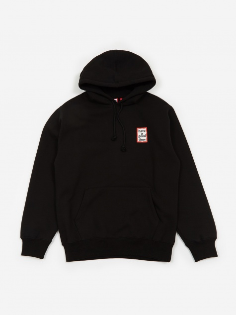 Mini Frame Hooded Sweatshirt - Black