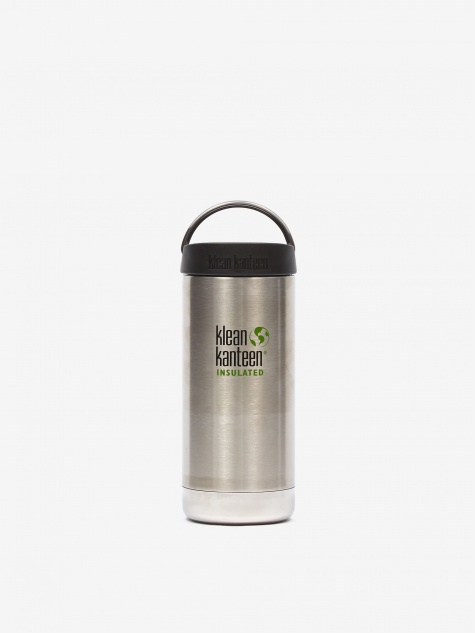 Insulated TKWide Bottle 12oz - Brushed Stainless