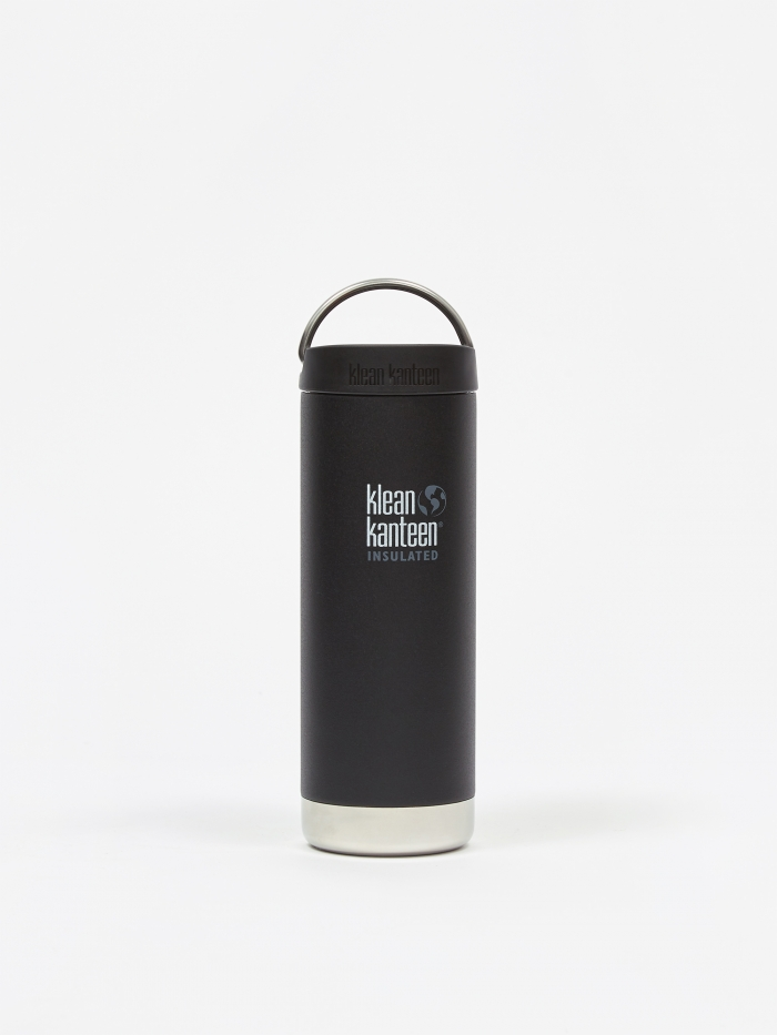 Klean Kanteen Insulated TKWide Bottle 16oz - Shale Black (Image 1)