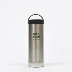 Klean Kanteen Insulated TKWide Bottle 16oz - Brushed Stainless